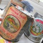 Vintage+food+labels+–+flour+sifter+upcycle.
