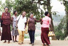 Hear about the joyful women in Rwanda who are helping rebuild their communities through entrepreneurship! #Africa #Fashion #Women