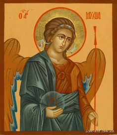 Orthodox icons of holy angels - icon-painting studio Guardian Angel