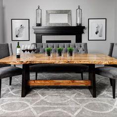 Live Edge Design Inc. - live edge, slab wood tables and furniture                                                                                                                                                                                 More
