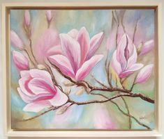 Painting, Beautiful, Art, Magnolias, Art Background, Painting Art, Kunst, Paintings, Performing Arts