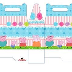 Peppa Pig with Dog: Free Printable Candy Paper Bag. | Oh My Fiesta! in english