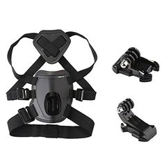 Koolertron GoPro Pet Chest Strap Dog Harness Belt Mount For GoPro Hero 43321 *** Details can be found by clicking on the image.