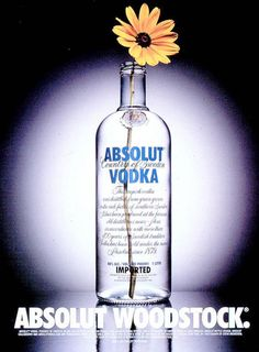 Image detail for -WOODSTOCK, Absolut Vodka, Tbwa\chiat\day, Absolut, Print, Outdoor, Ads