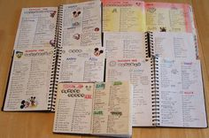Write the packing list at the beginning of the travel journal    Packing Lists by TracyU, via Flickr