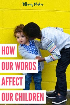 Our words, as parents, have the power to break or build our children. Understanding the weight our words have can shape our parenting and role in motherhood.