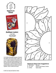 ★ Stained Glass Patterns for FREE ★ glass pattern 761 ★