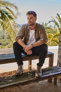 Chris Pratt, Chris Evans, Chris Hemsworth Thor, Jake Gyllenhaal, Tag Heuer, Tom Holland, Hemsworth Brothers, Australian Actors, Best Dressed Man
