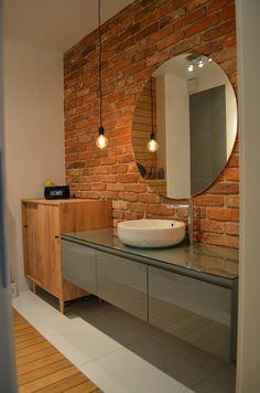Wnętrza, Łazienka 7,2m2 - Nareszcie skończona łazienka. Wyszła tak jak chciałam :) Zamysł był taki by zastosowac minimalną ilość płytek i fug, których nie...
