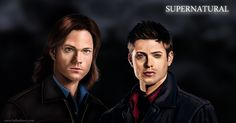 Supernatural Fan Art by lberry1976.deviantart.com on @deviantART