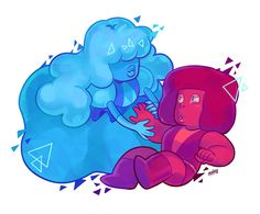 See more 'Steven Universe' images on Know Your Meme! Sapphire Steven Universe, Steven Universe Ships, Universe Images, Universe Art, Cartoon Network, Harry Potter Ships, Embedded Image Permalink, Anime, Geek Stuff