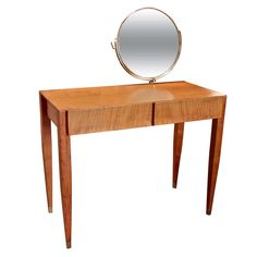 Gio' Ponti Vanity for Hotel Royal, Naples (1953) | From a unique collection of antique and modern vanities at http://www.1stdibs.com/furniture/tables/vanities/