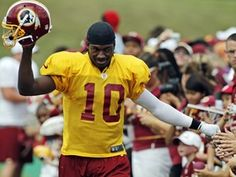 #RG3  Wish he could come back to where he started.  It was the game against us that changed his life. Makes me sad.