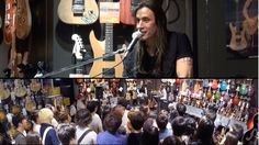 Nuno Bettencourt in store Q&A at Ishibashi Music Shibuya June 2014 Nuno Bettencourt, Tokyo Shopping, Guitar Shop, Bon Jovi, June, Wellness, Store, Videos, Fotografia