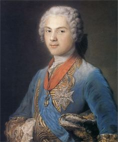 Louis of France, Dauphin, son of Louis XV, by Maurice Quentin de La Tour.