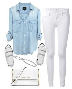 """have a nice day @polyvore team!"" by ecem1 ❤ liked on Polyvore featuring Frame Denim, MICHAEL Michael Kors and Alexander Wang"