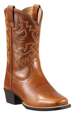 Ariat® Legend™ Youth Coyote Brown Punchy Square Toe Western Boot
