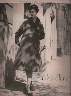 60's Lilli Ann Fashion Advertisement  - Spring 1963 #LilliAnnFashions