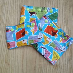Snack and Sandwich Bags  This Land is Your Land  by Sewing4Babies