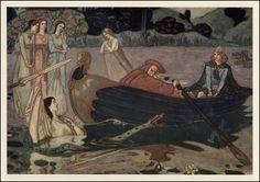 John Duncan - The Taking Of Excalibur - ca 1897