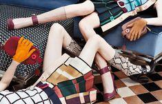 Prada Fall 2011 Campaign. Steven Meisel