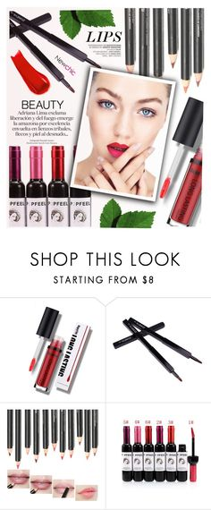 """""""Newchic Anniversary SALE! ⤵"""" by yexyka ❤ liked on Polyvore featuring NARS Cosmetics"""
