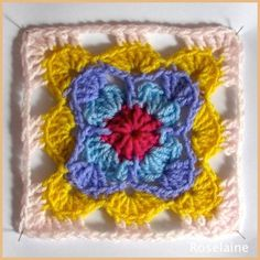Granny Square by Simply Crochet