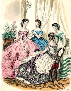 19th Century Victorian Fashion | Flickr - Photo Sharing!