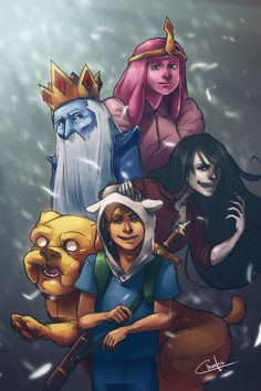Adventure Time by Ctreuse109.deviantart.com on @DeviantArt