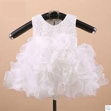 vestidos blancos de tutu para bebe 3 meses - Buscar con Google