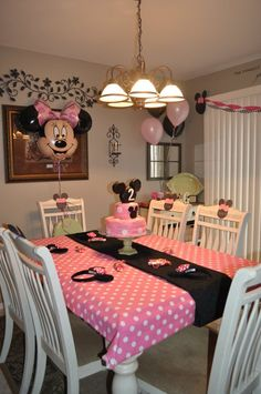Minnie Mouse Birthday Party | How Do It Info