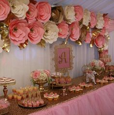 Boho paper flower backdrop and dessert table Birthday Celebration Quotes, Birthday Wishes, Birthday Parties, 25th Birthday, Paper Flower Backdrop, Paper Flowers Diy, Balloon Decorations Party, Birthday Party Decorations, Birthday Themes For Adults