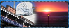 The Chowder Bowl, Nye Beach | Newport, OR  try the 'slumgoian chowder with bay shrimp on top'