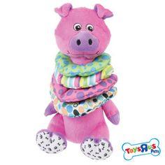 Toys R Us® Pets Plush Ring-Stacked Neck Toy - Toys - Dog - PetSmart