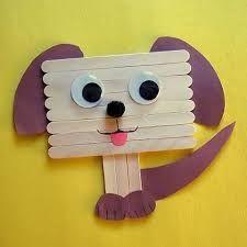 Resultado de imagem para arte com palito de picole para a educação infantil