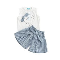 Cheap girl clothes set, Buy Quality kids clothing set directly from China clothing sets Suppliers: Kid Baby Girl Clothes Set Bowknot T-shirt Tops + Plaid Skirt Pants Outfits Outfit Kids Clothing Set Girls Summer Outfits, Girl Outfits, Toddler Fashion, Kids Fashion, Fashion Clothes, Fashion Tights, Discount Kids Clothes, Baby Girl Skirts, Baby Suit