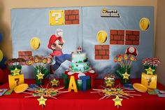Mario Party... from the Mario Mustaches to the Bubble Gum Coins = cute, cute, cute :)