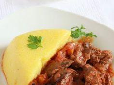 Ficatei de pui cu sos de rosii si usturoi - Rețetă Petitchef Romanian Food, Romanian Recipes, Tasty, Yummy Food, Cooking Recipes, Healthy Recipes, Ravioli, Soul Food, Food To Make