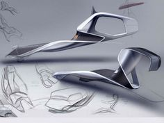 Opel Trino interior ideation by Vladislav Domanin. More sketches here.