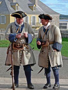 Historic Re-enactment, Fortress Louisbourg Cape Breton, Nova Scotia Canada Destinations, Rangers, Atlantic Canada, Parks Canada, Canadian History, Cape Breton, American Revolutionary War, Colonial America, French Army