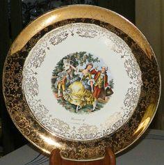 Vintage Sabin Crest O Gold Collectable Plate Souvenior of Alexandria Minn | eBay