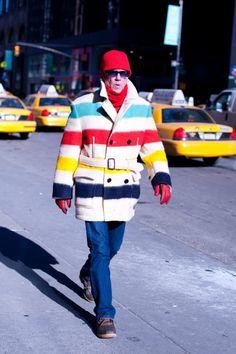 Hudson Bay Blanket - street style