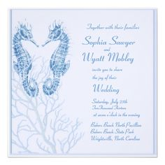 =>>Save on          	seahorse beach wedding blue - invitation           	seahorse beach wedding blue - invitation This site is will advise you where to buyShopping          	seahorse beach wedding blue - invitation Review on the This website by click the button below...Cleck Hot Deals >>> http://www.zazzle.com/seahorse_beach_wedding_blue_invitation-161771697379618558?rf=238627982471231924&zbar=1&tc=terrest