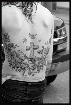 Back Piece Tattoo