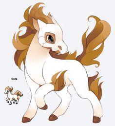 Pokefusion Cuta (Cubone + Ponyta)
