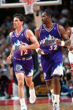 John Stockton Karl Malone Utah Jazz!