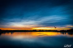 See what I saw - Your world my eyes: Blue sunset