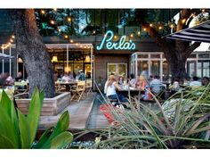 Austin cottage rental - right near Perla's seafood & oyster bar on South Congress (SoCo).