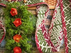 плетение травами