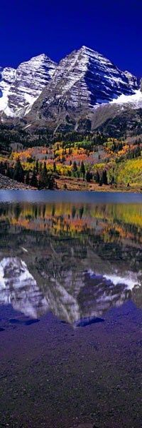 Maroon Bells, Colorado, by Peter Lik
